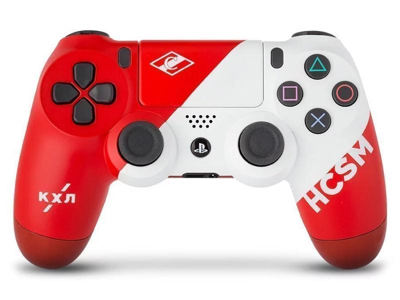 Геймпад Rainbo Sony DualShock 4 КХЛ Спартак RBW-DS067