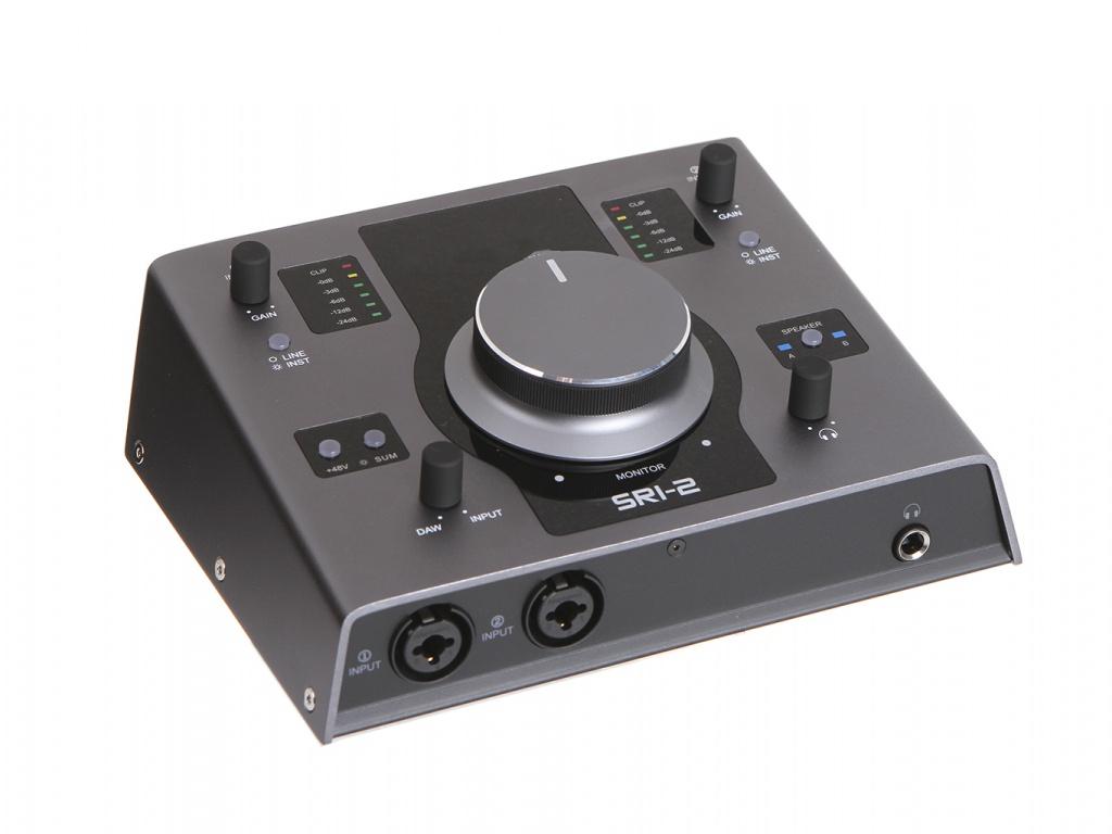 Аудиоинтерфейс Fluid Audio SRI-2 Black