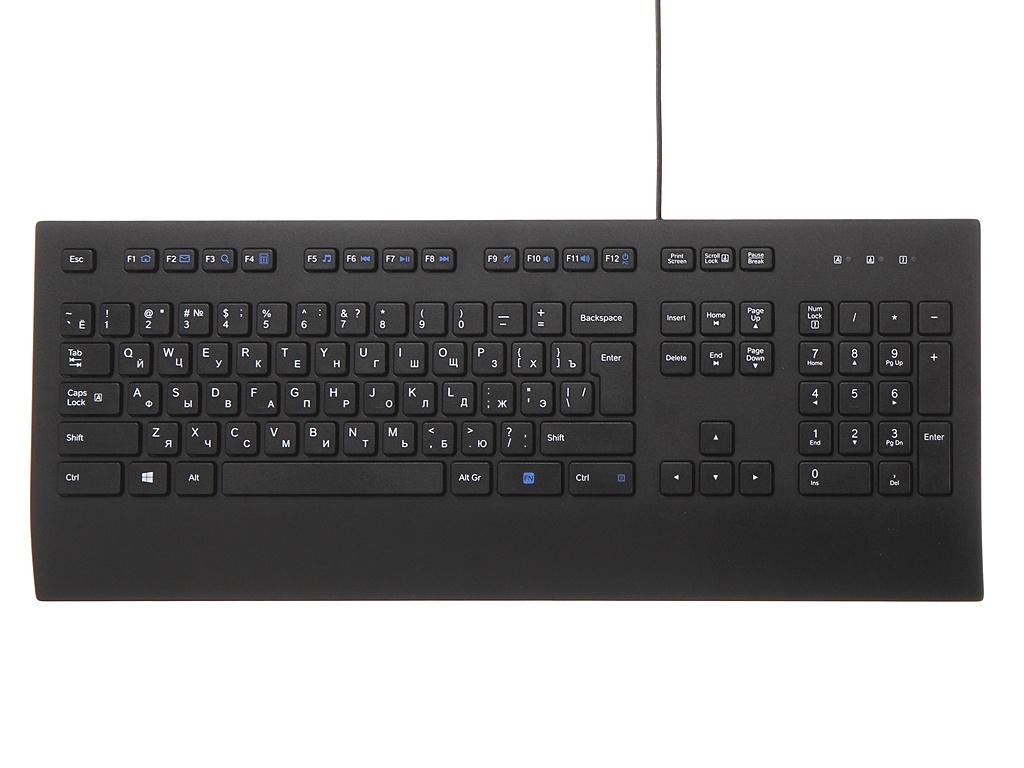 Клавиатура Logitech K280e Corded Keyboard Black 920-005215 Выгодный набор + серт. 200Р!!!
