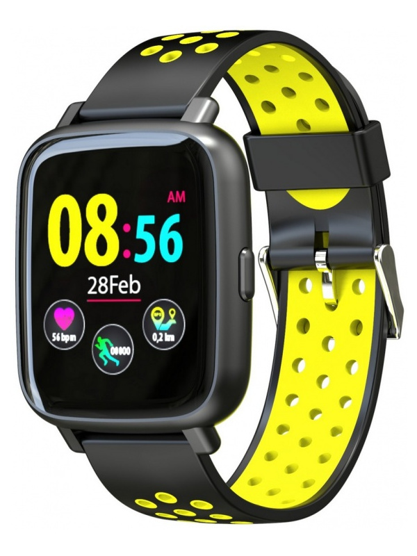 Умные часы Jet Sport SW-5 Black-Yellow