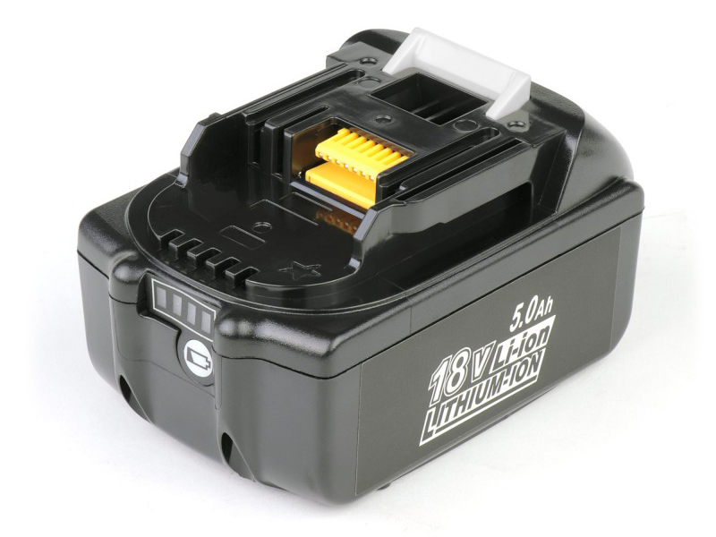 Аккумулятор TopON TOP-PTGD-MAK-18-5.0-Li для Makita BL1850B 18V 5.0Ah (Li-Ion) PN: 197280-8 102760