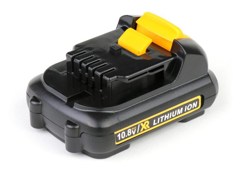Аккумулятор TopON TOP-PTGD-DEW-10.8-1.3-Li для DeWalt 10.8V 1.3Ah (Li-Ion) PN: DCB125 102752