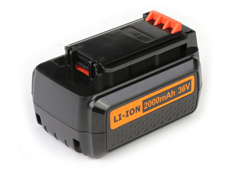 Аккумулятор TopON TOP-PTGD-BD-36-2.0-Li для Black & Decker 36V 2.0Ah (Li-Ion) PN: BL20362 102738
