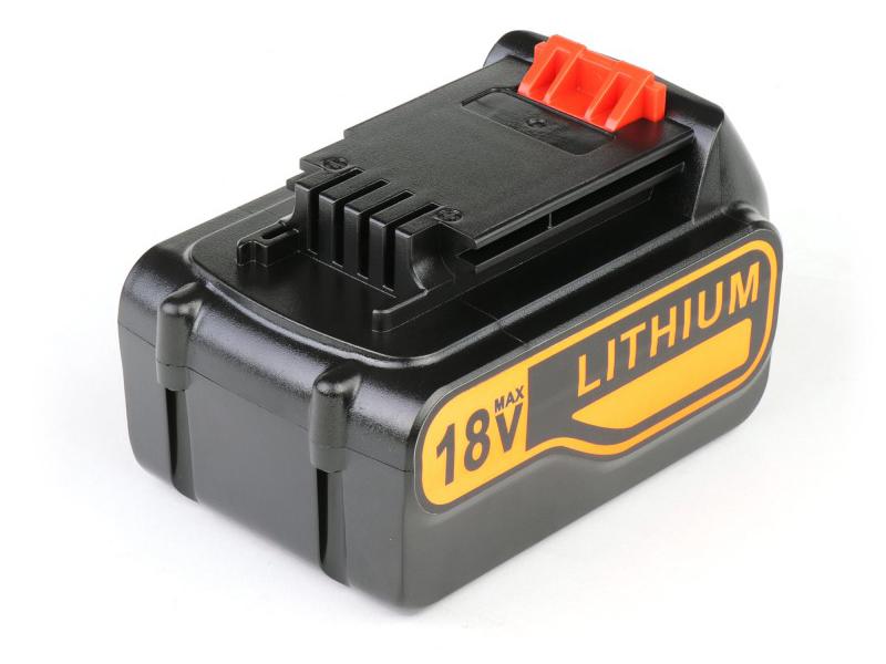 Аккумулятор TopON TOP-PTGD-BD-18-4.0-Li для Black & Decker 18V 4.0Ah (Li-Ion) PN: BL4018-XJ 102737