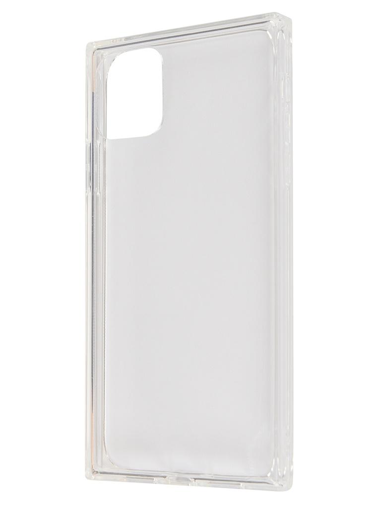 Чехол Brosco для APPLE iPhone 11 Ice Cube Silicone Transparent IP11-ICE-TPU-TRNSPRNT