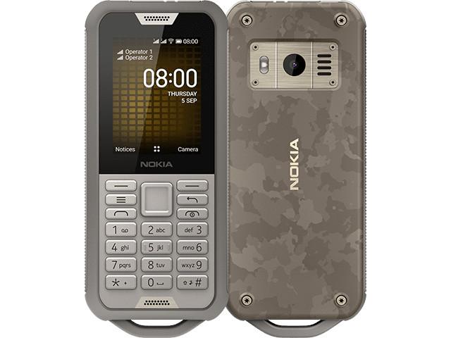 Сотовый телефон Nokia 800 Tough (TA-1186) Sand