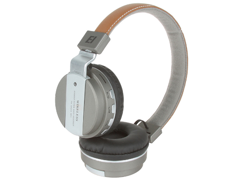 Наушники Eltronic Bluetooth/FM/Micro SD/AUX Graphite 4464