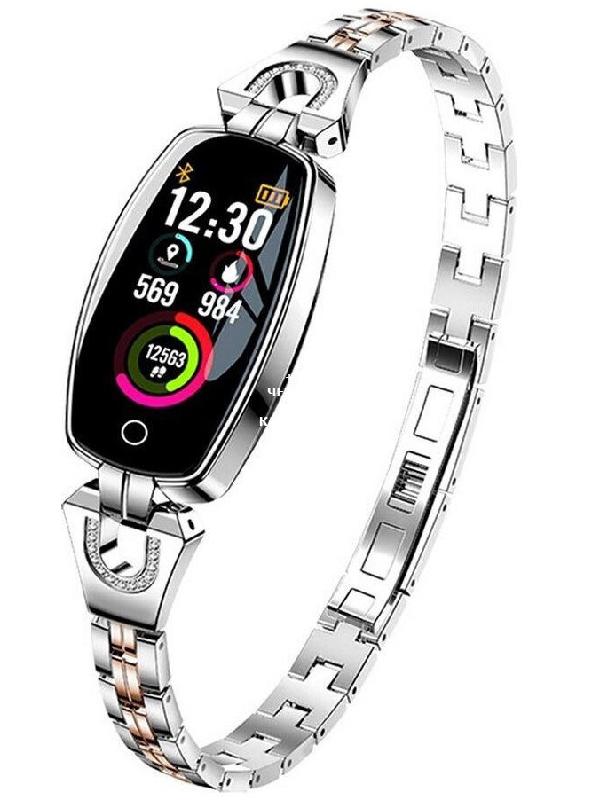 Умные часы LEMFO H8 Silver
