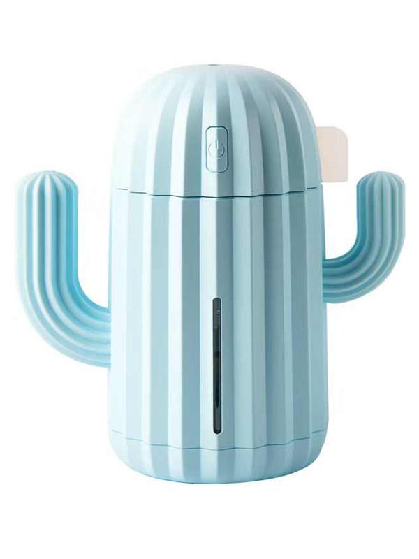 Увлажнитель Humidifier H320B кактус Light Blue humidifier usb mini air diffuser aroma mist maker home office portable led light