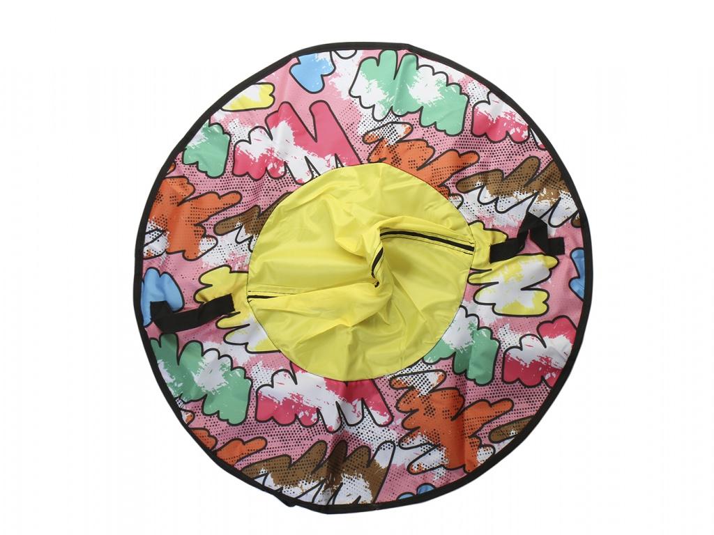 Тюбинг Fani Sani Разноцветные молнии 80cm 81075