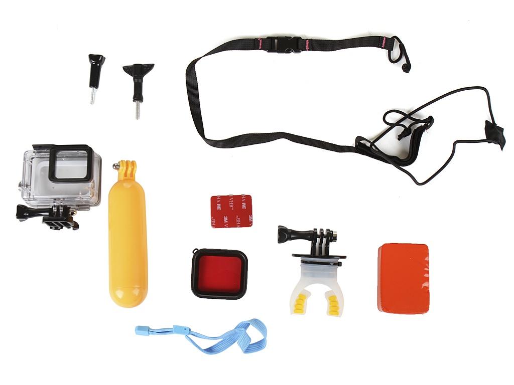 Фото - Аксессуар Набор крепежей и аксессуаров Lumiix GP406 для экшн камер GoPro HERO 7/6/5 Black аксессуар