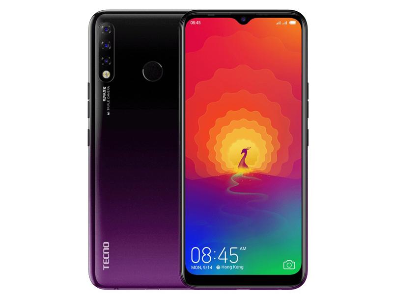 Сотовый телефон Tecno Spark 4 Royal Purple