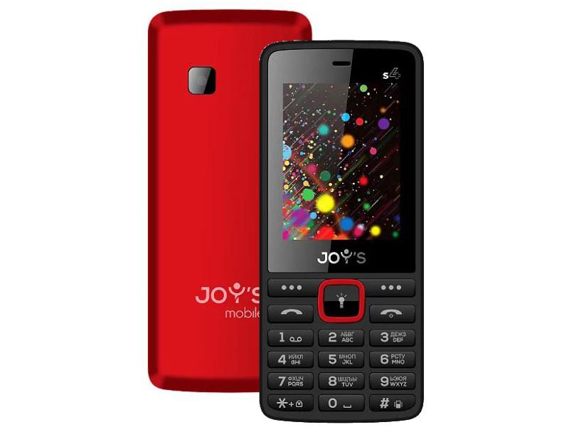 Сотовый телефон Joys S4 DS Red