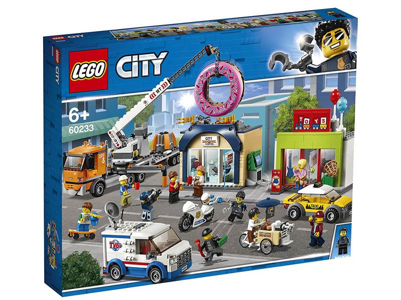цена на Конструктор Lego City Открытие магазина по продаже пончиков 60233