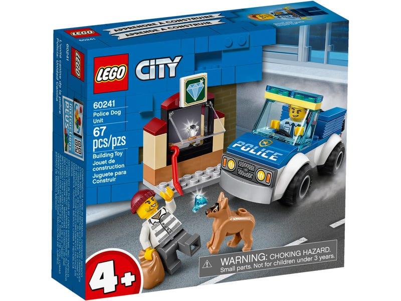 Конструктор Lego City Полицейский отряд с собакой 60241