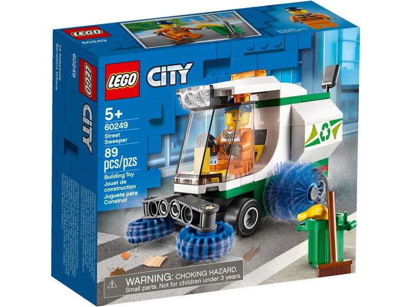 цена на Конструктор Lego City Машина для очистки улиц 60249