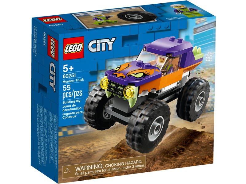 Конструктор Lego City Монстр-трак 60251