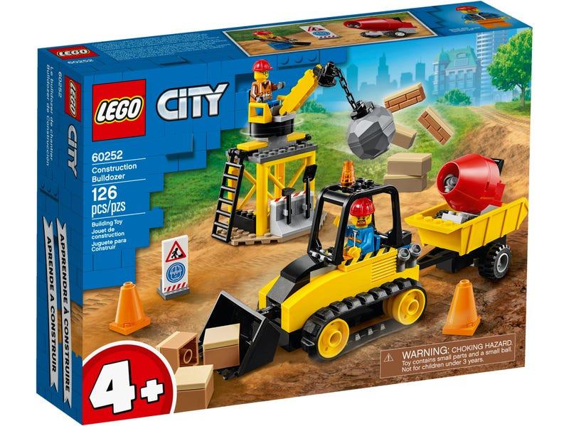 Конструктор Lego City Строительный бульдозер 60252 конструктор city lego lego mp002xb00c9t