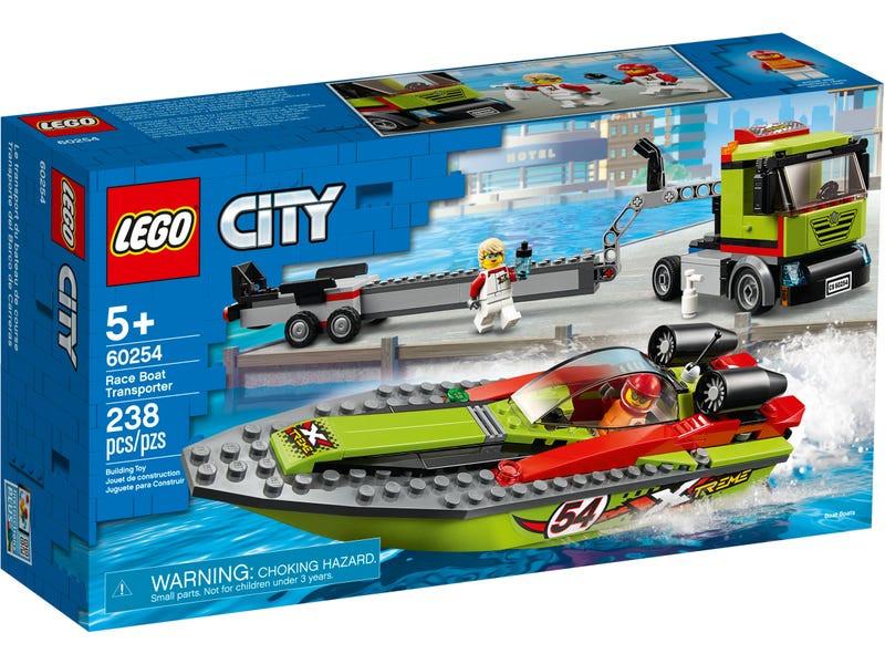 Конструктор Lego City Транспортировщик скоростных катеров 60254 фото