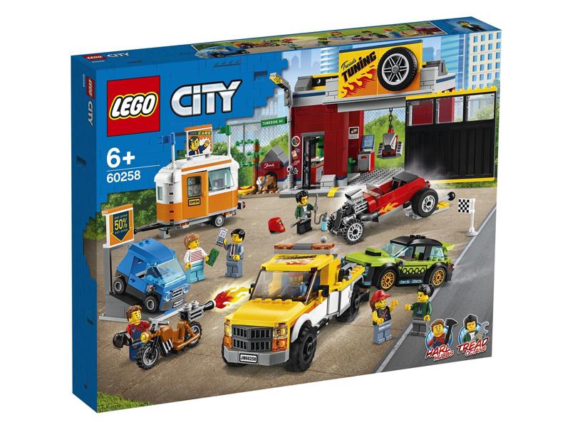 Конструктор Lego City Тюнинг-мастерская 60258