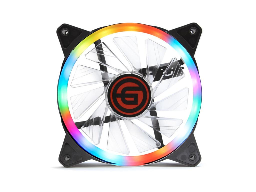 Вентилятор Ginzzu RGB 12DR4