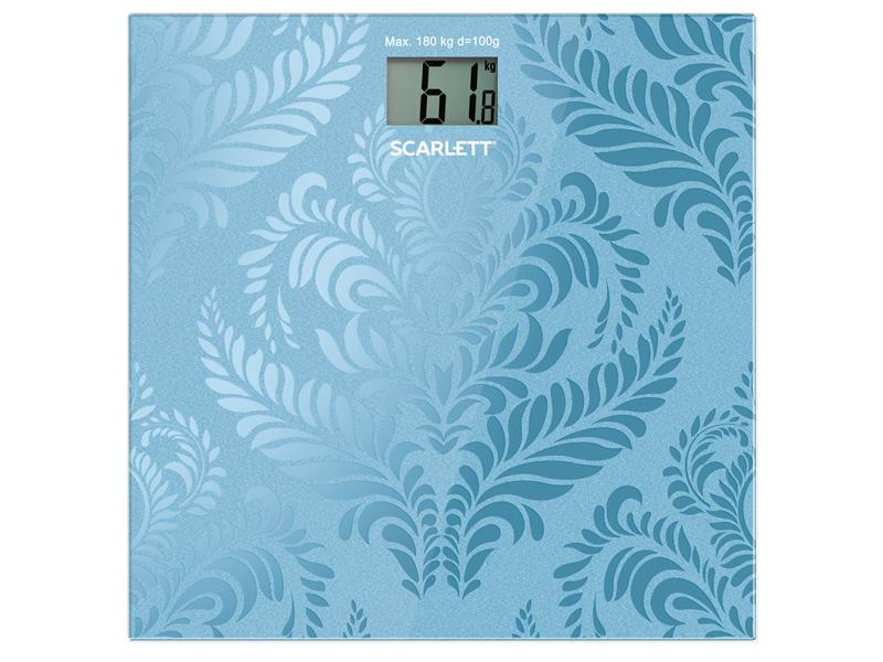 Весы напольные Scarlett SC-BS33E044 Blue