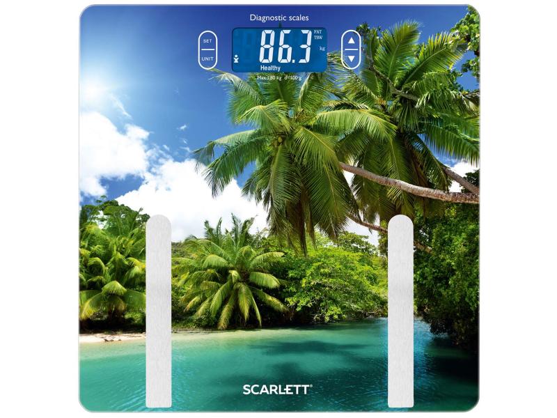 Фото - Весы напольные Scarlett SC-BS33ED12 весы напольные scarlett sc bs 33 e 090