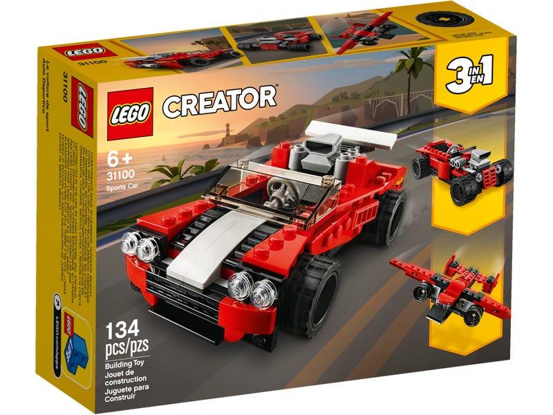 Конструктор Lego Creator Спортивный автомобиль 31100