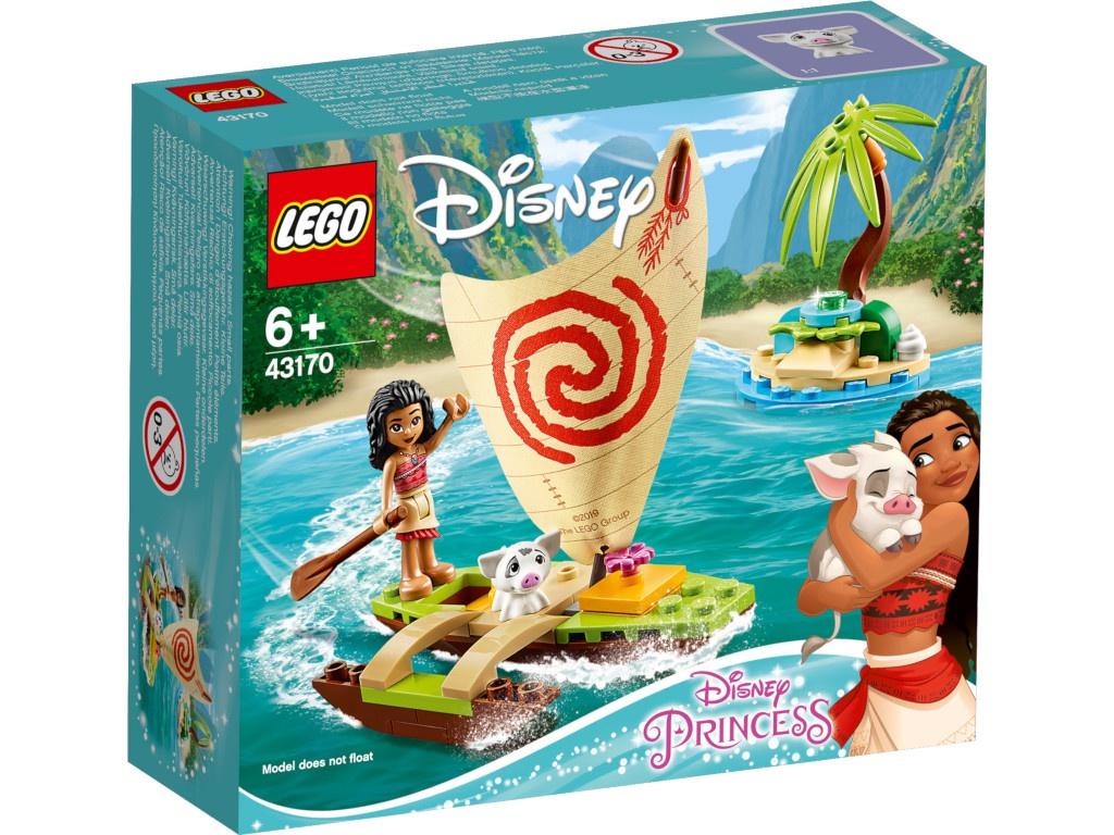 Конструктор Lego Princess Морские приключения Моаны 43170