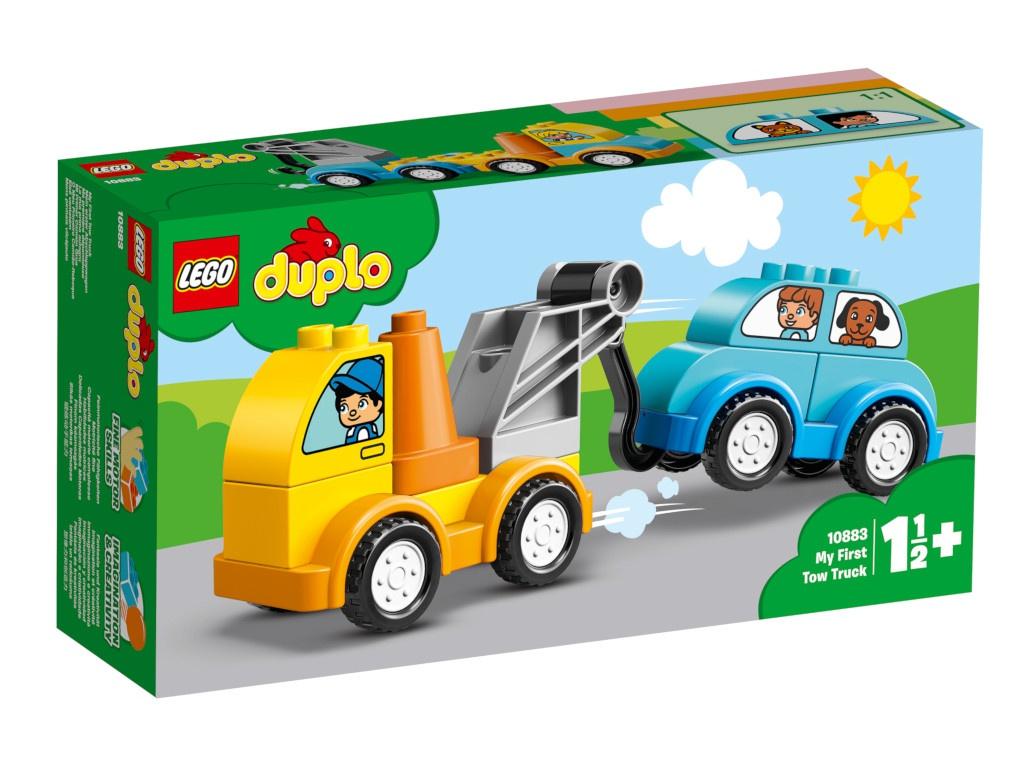 Конструктор Lego Duplo Мой первый эвакуатор 10883