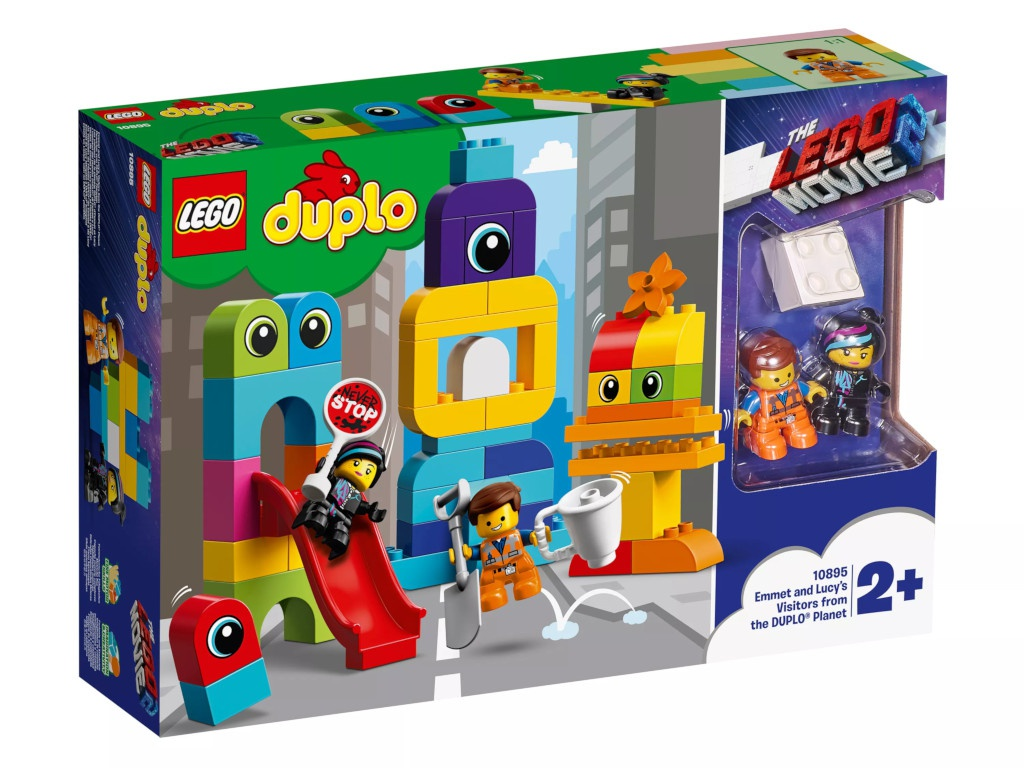 Конструктор Lego Duplo Movie 2 Пришельцы с планеты 10895