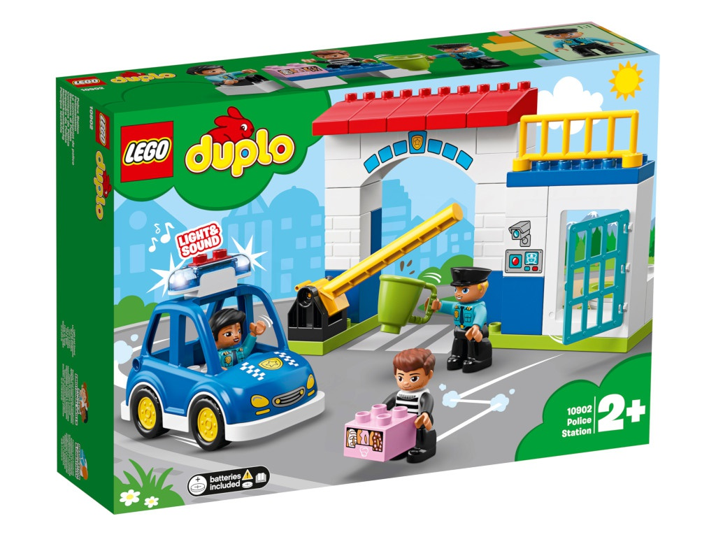 Конструктор Lego Duplo Полицейский участок 10902