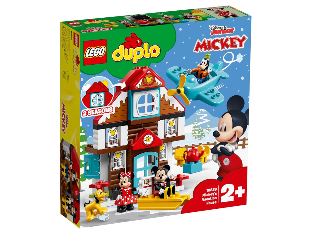 Конструктор Lego Duplo Летний домик Микки 10889