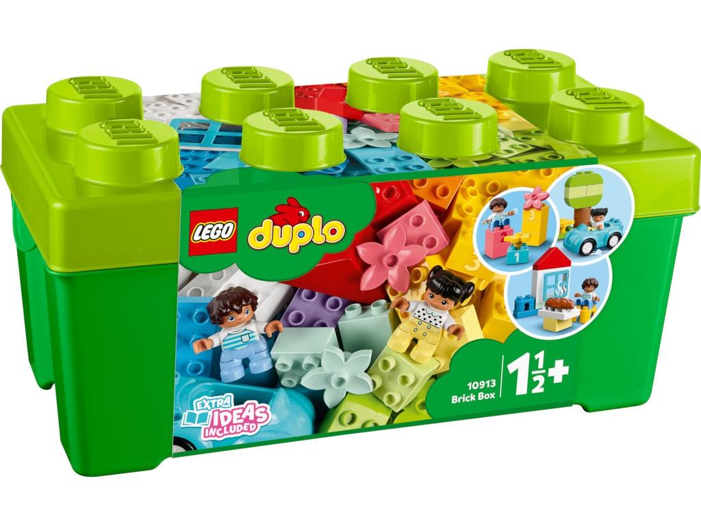 Конструктор Lego Duplo Коробка с кубиками 10913