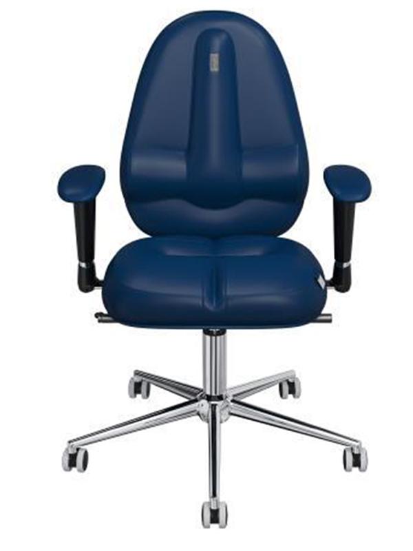 Компьютерное кресло Kulik System Classic (без подголовника) Blue