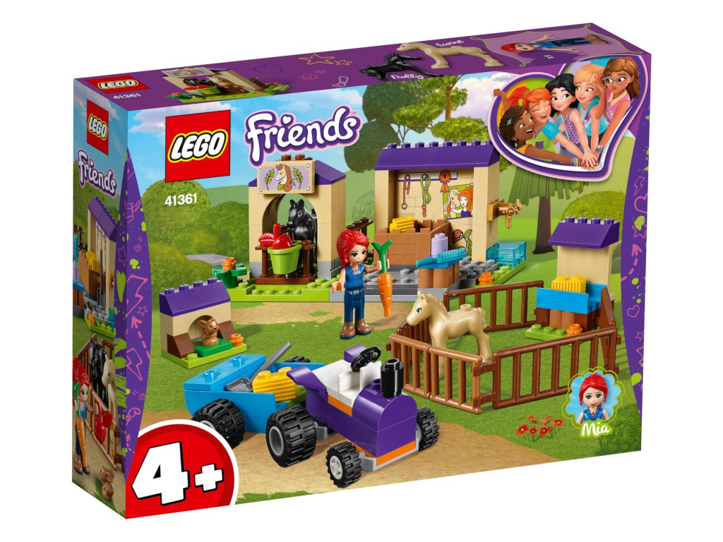 Конструктор Lego Friends Конюшня для жеребят Мии 41361 конструктор lego friends катер для спасательных операций 908 дет 41381