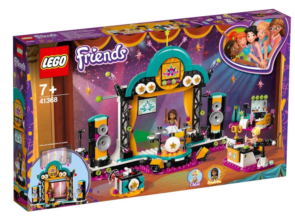 Конструктор Lego Friends Шоу талантов 41368
