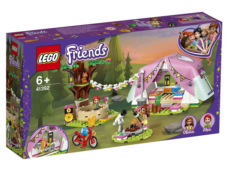 Конструктор Lego Friends Роскошный отдых на природе 41392