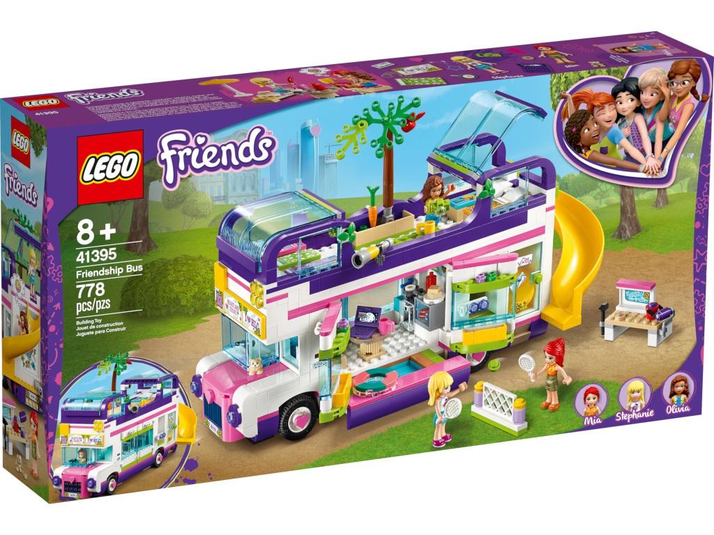 Конструктор Lego Friends Автобус для друзей 41395 конструктор lego friends катер для спасательных операций 908 дет 41381