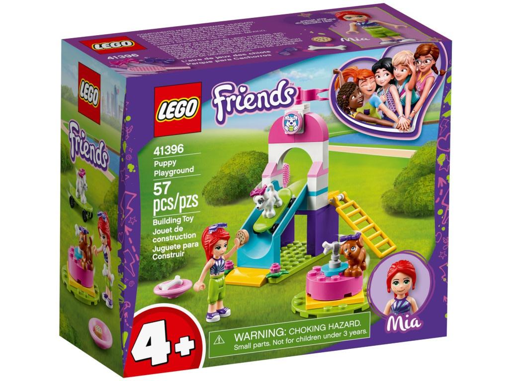 Конструктор Lego Friends Игровая площадка для щенков 41396 — Игровая площадка для щенков