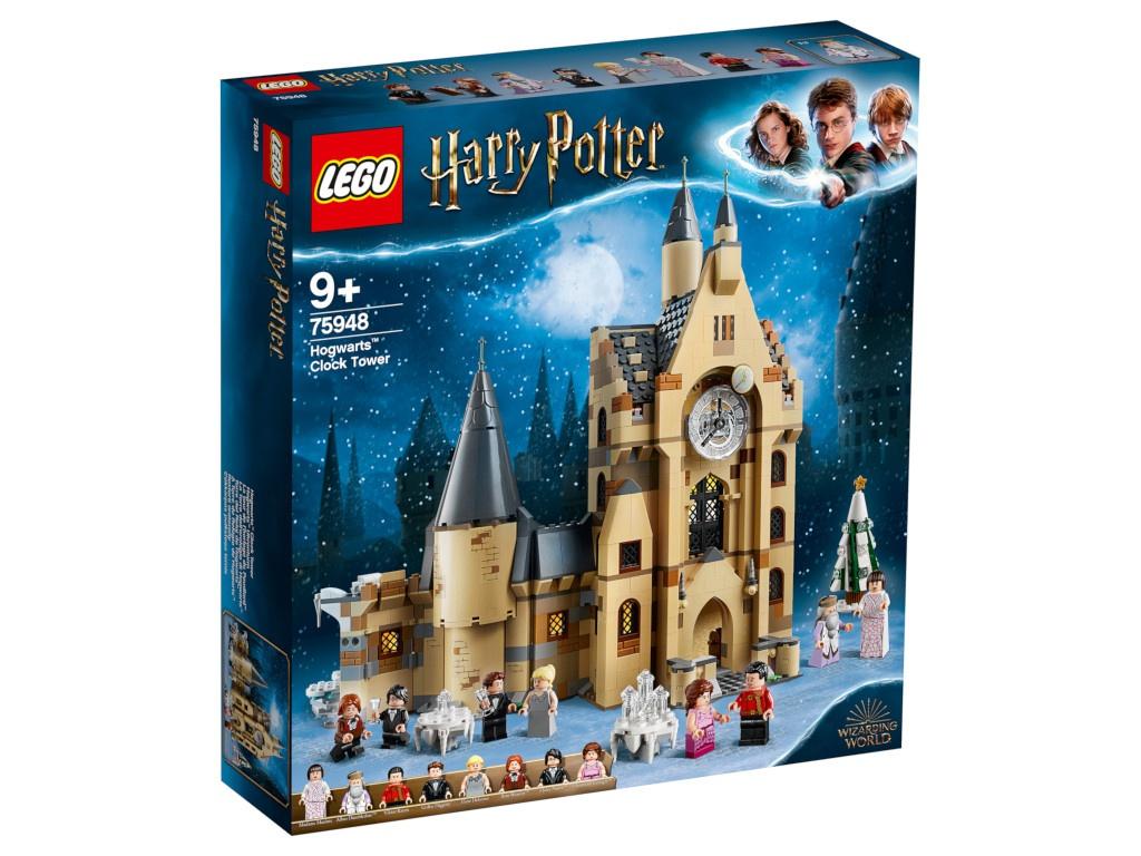 Конструктор Lego Harry Potter Часовая башня Хогвартса 75948