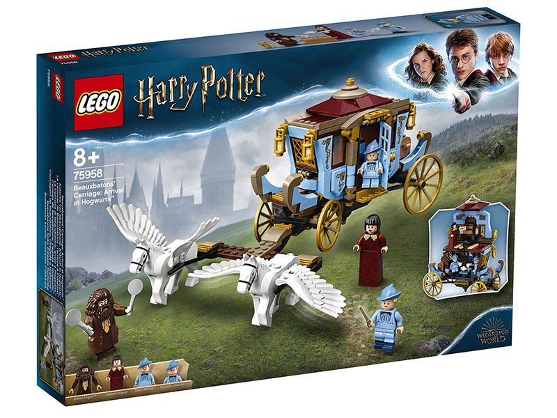 Конструктор Lego Harry Potter Карета школы Шармбатон приезд в Хогвартс 75958 фото