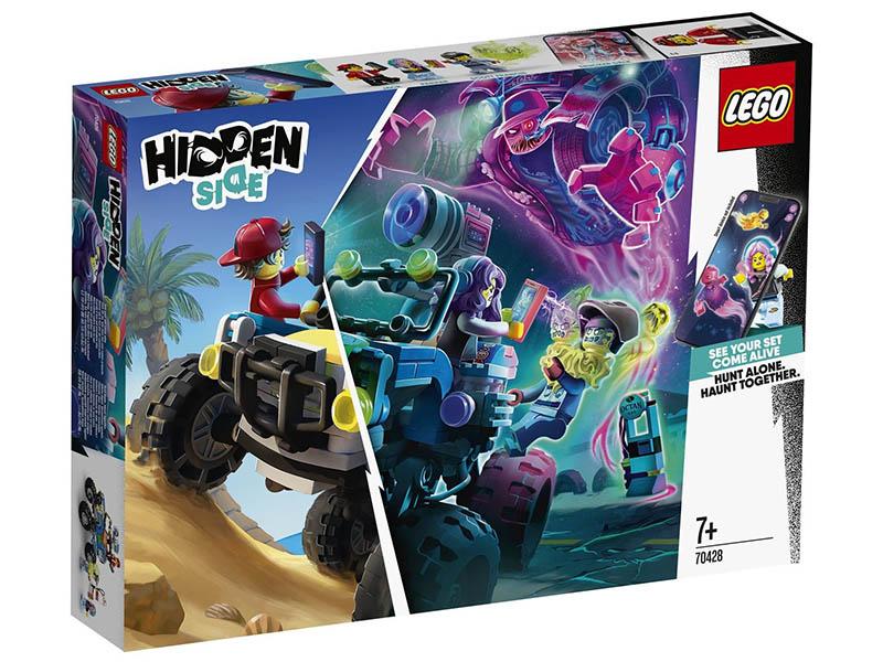 Конструктор Lego Hidden Side Пляжный багги Джека 70428