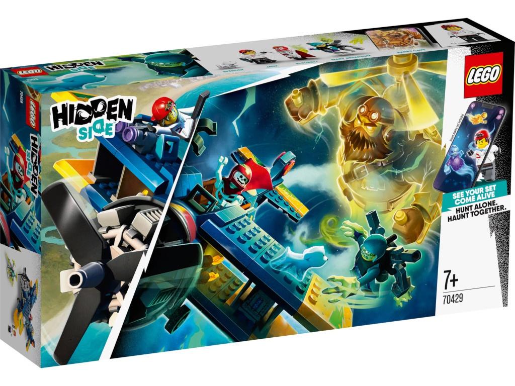 Конструктор Lego Hidden Side Трюковый самолёт Эль-Фуэго 70429