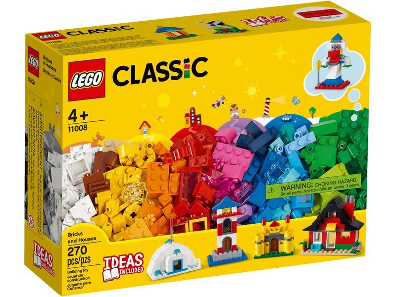 палатки домики Конструктор Lego Classic Кубики и домики 11008