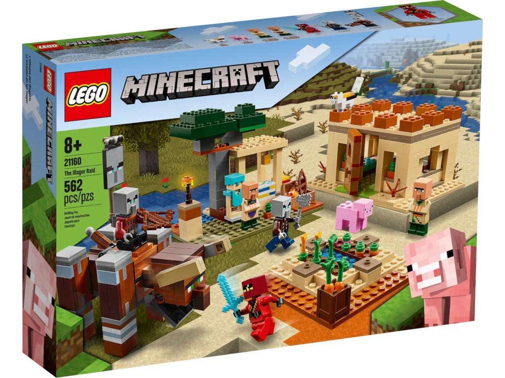 Конструктор Lego Minecraft Патруль разбойников 21160 фото