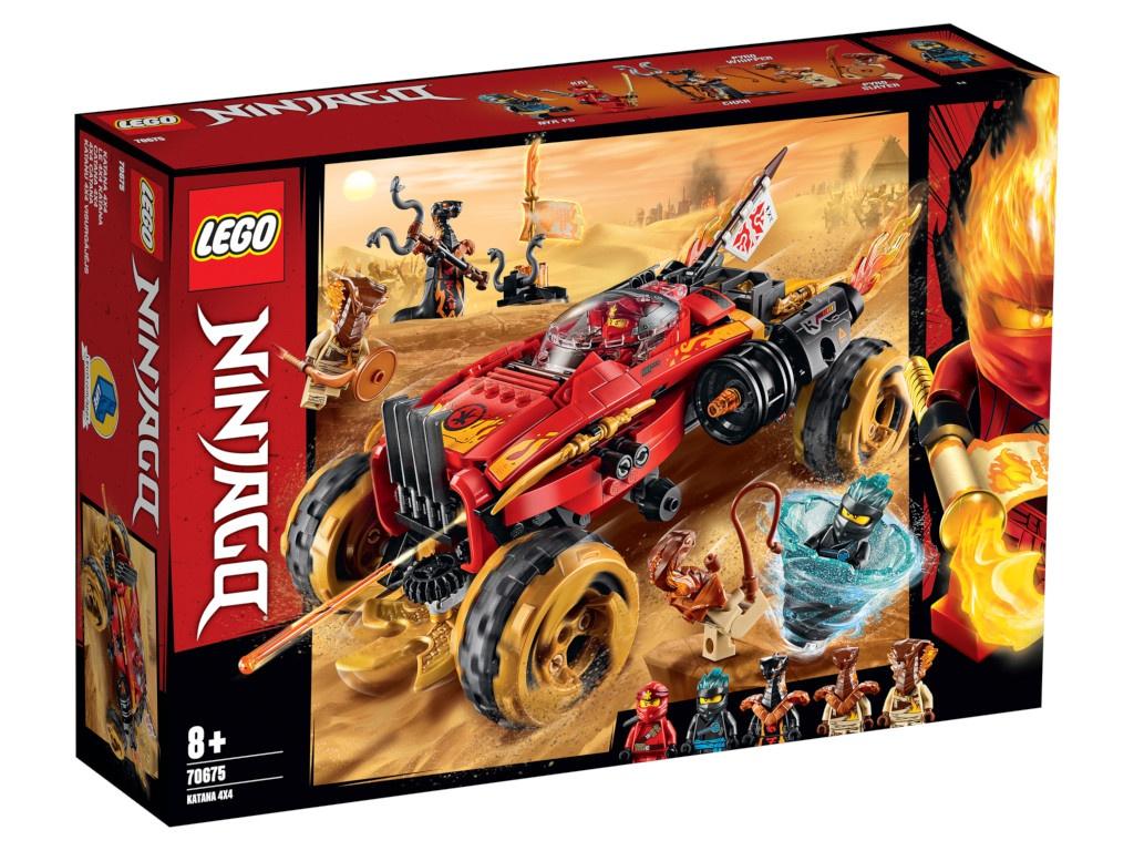 Конструктор Lego Ninjago Внедорожник Катана 4x4 70675