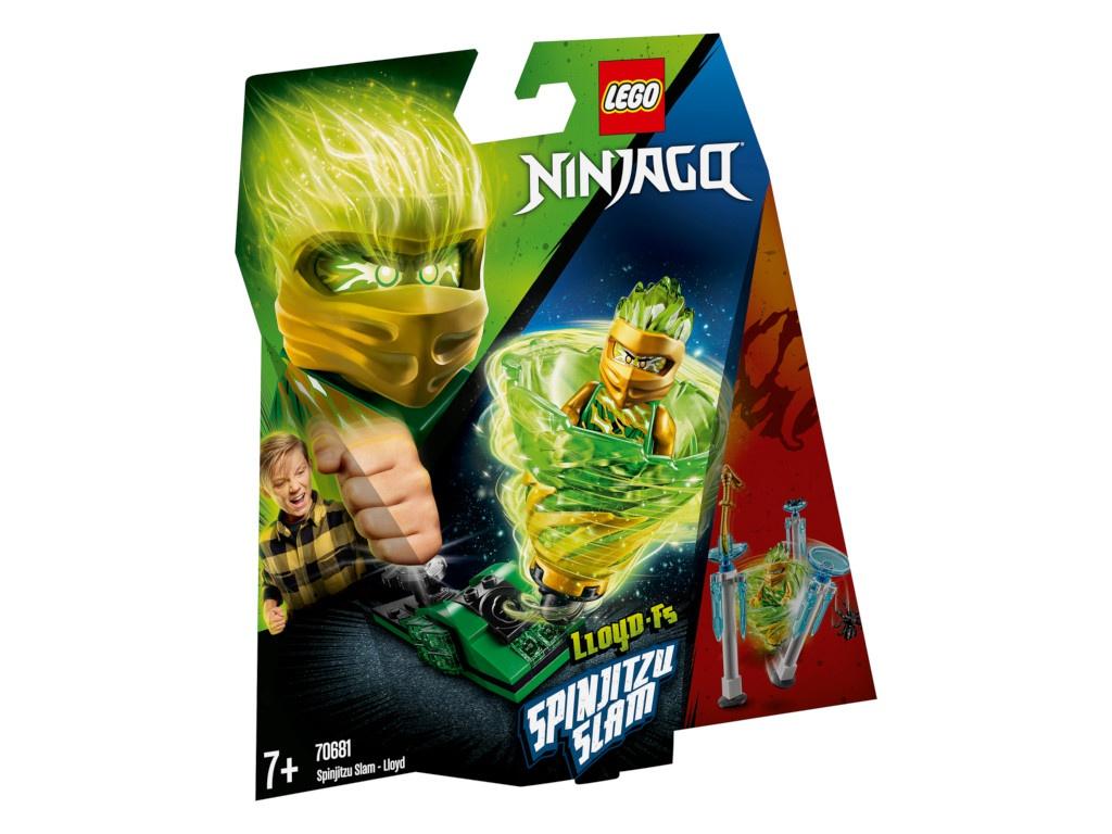 Конструктор Lego Ninjago Бой мастеров кружитцу Ллойд 70681 фото