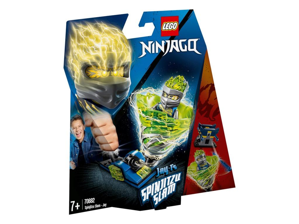 Конструктор Lego Ninjago Бой мастеров кружитцу Джей 70682