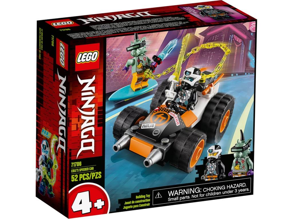 Конструктор Lego Ninjago Скоростной автомобиль Коула 71706